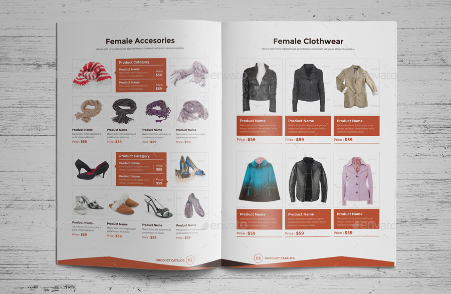 Product promotion catalog indesign template v4 by jbn comilla graphicriver for Catalog template indesign