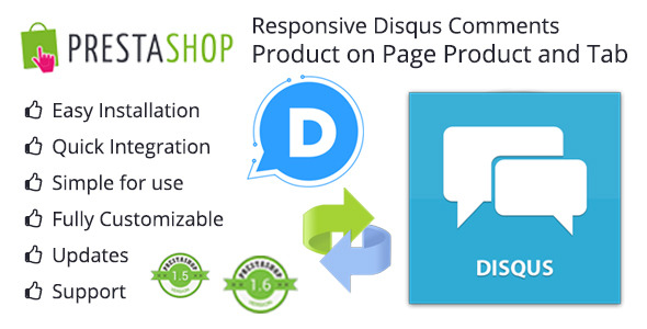 Responsive Disqus System Comments Product and Animation Tab Comment Store - CodeCanyon Item for Sale