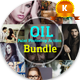 Oil Paint Photoshop Action Bundle - GraphicRiver Item for Sale