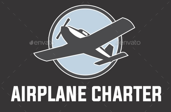 airplane logo by mazyo2x graphicriver