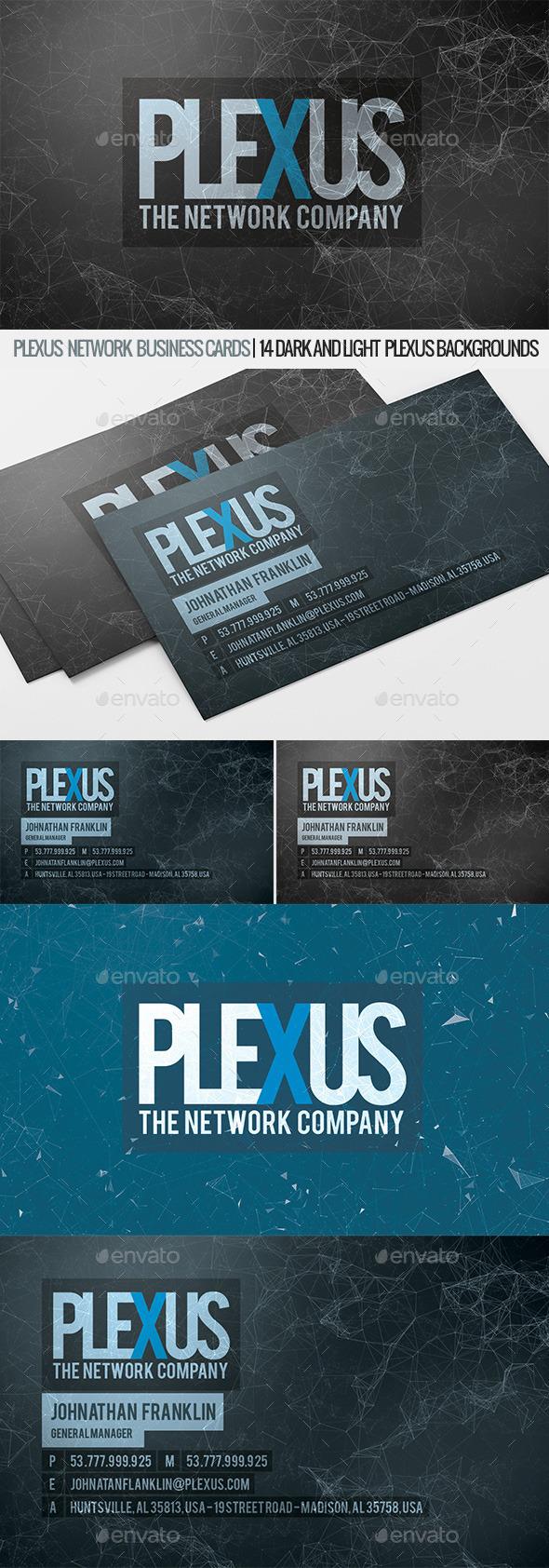 Plexus business cards by designsomething graphicriver plexus business cards corporate business cards colourmoves