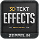 3D Text Effects Vol.2 - GraphicRiver Item for Sale