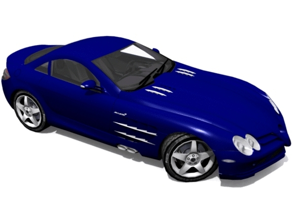 Mercedes-Benz SLR McLaren - 3DOcean Item for Sale