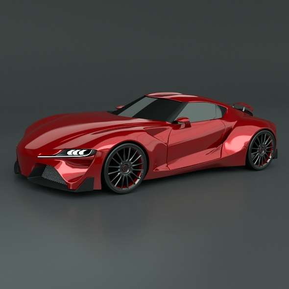 Toyota FT1 racing car restyled - 3DOcean Item for Sale
