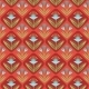 Seamless Pattern With Floral Ornament On Red - GraphicRiver Item for Sale