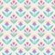 Seamless Vector Pattern With Flowers - GraphicRiver Item for Sale
