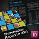 12pp Dark Report / Brochure - InDesign - GraphicRiver Item for Sale