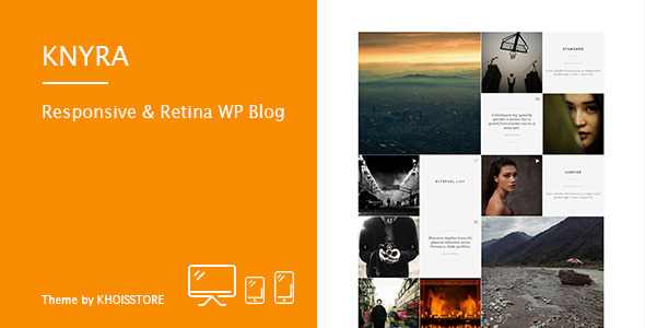 Knyra - Responsive & Retina WordPress Blog