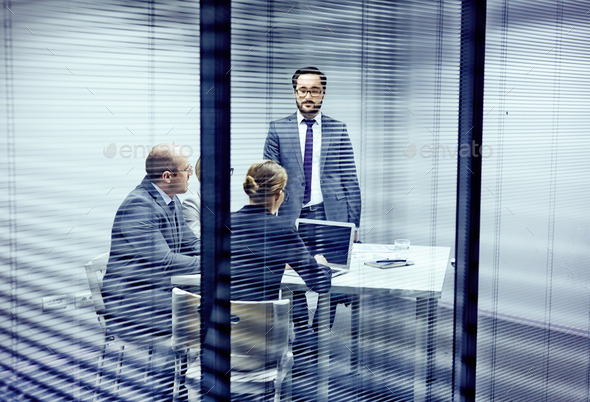 Consulting in office - Stock Photo - Images