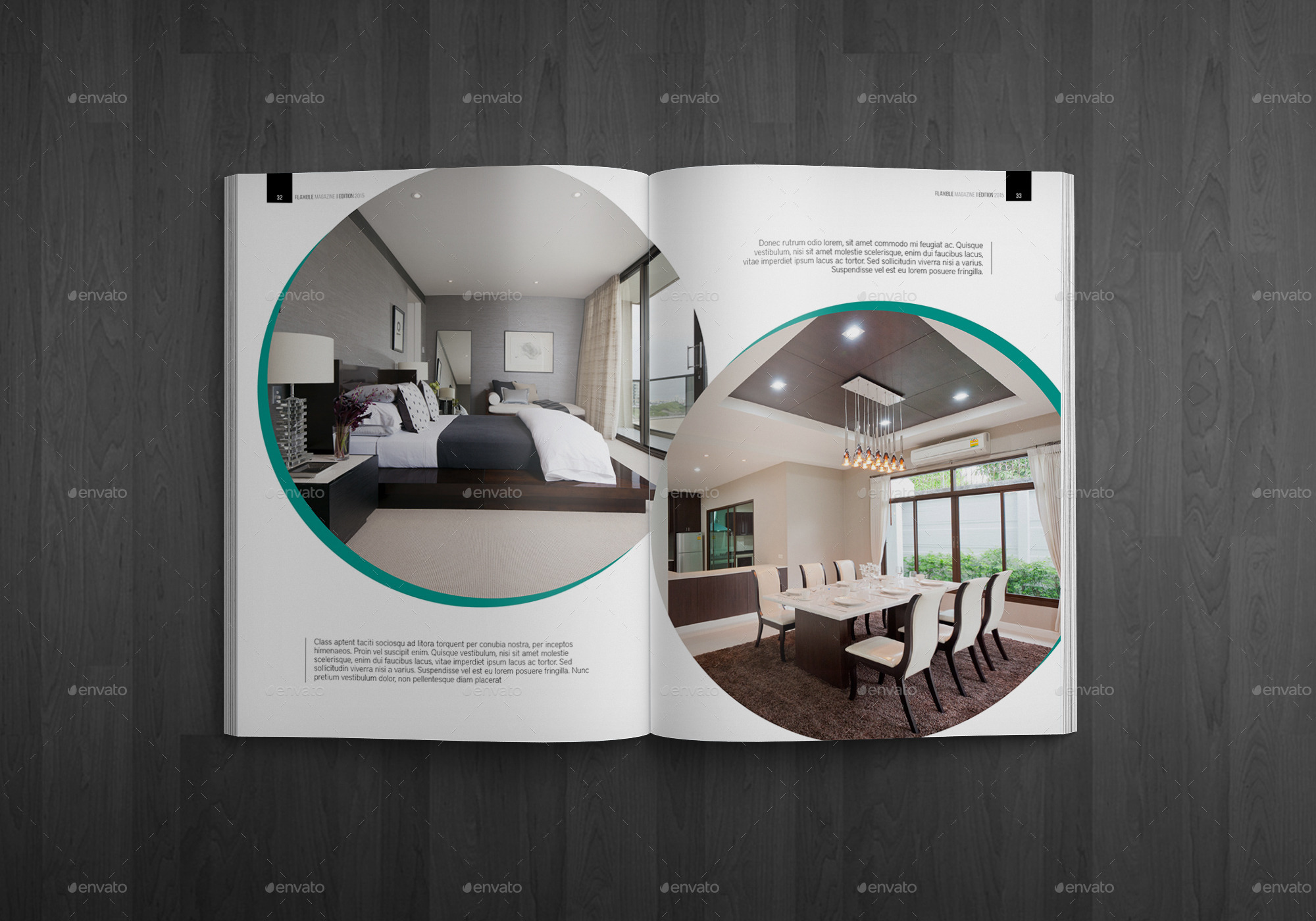 Indesign Magazine Template by zoelgebe | GraphicRiver