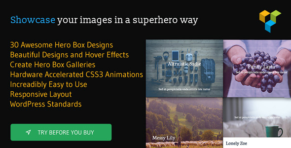 Hero Boxes for Visual Composer - CodeCanyon Item for Sale