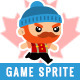 Canada Woodcutter Character Sprites - GraphicRiver Item for Sale