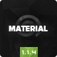 Material - Multipurpose HTML5 Business Template v1.1.4 Nulled