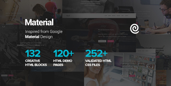 Material – Multipurpose HTML5 Business Template v1.1.4
