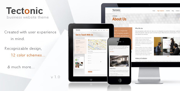 Tectonic – Responsive WordPress Theme