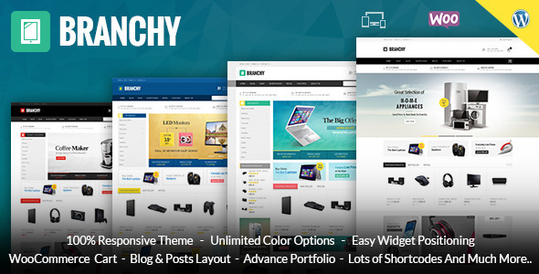Branchy – WooCommerce Responsive Theme