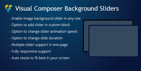 WPBakery Page Builder (Visual Composer) Background Sliders - CodeCanyon Item for Sale