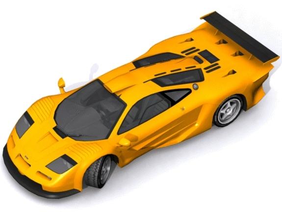 McLaren F1 GT Longtail - 3DOcean Item for Sale