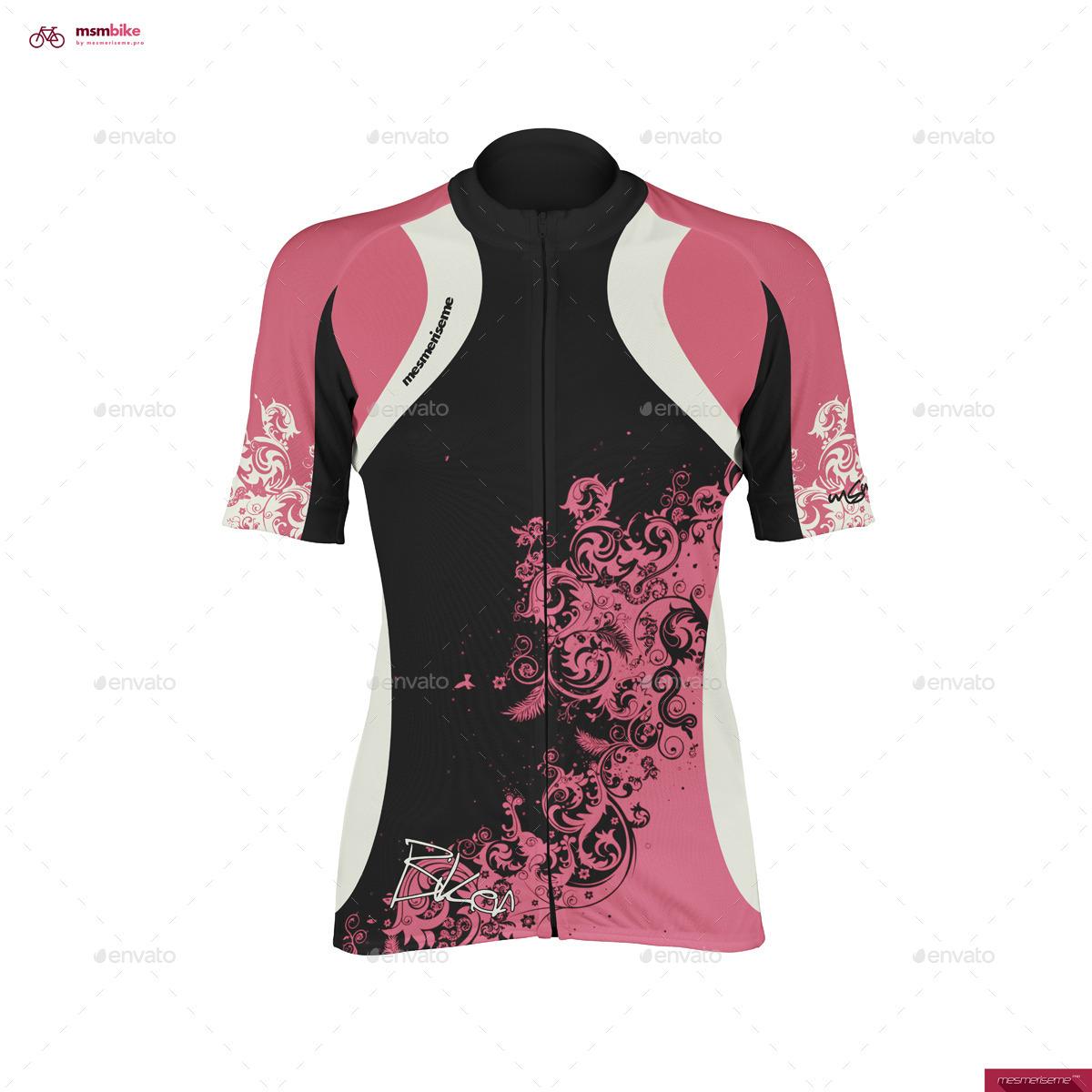 Women Bike Jersey Mock-up - Miscellaneous Apparel · screenshots 01. f7ee9a66d