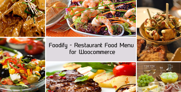 Foodify - Restaurant Food Menu for Woocommerce - CodeCanyon Item for Sale