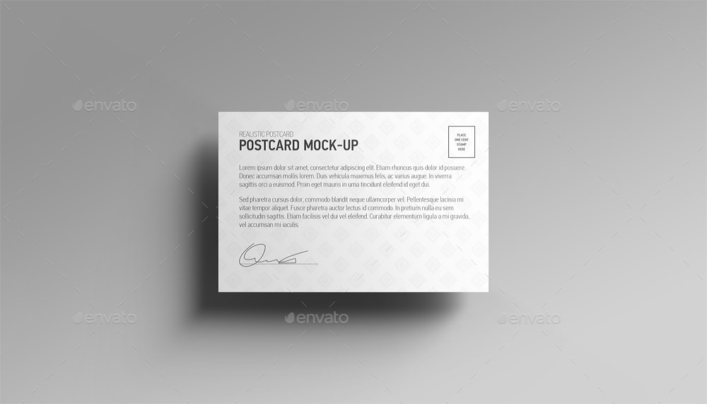 ... Postcard Mock Up_15 ...