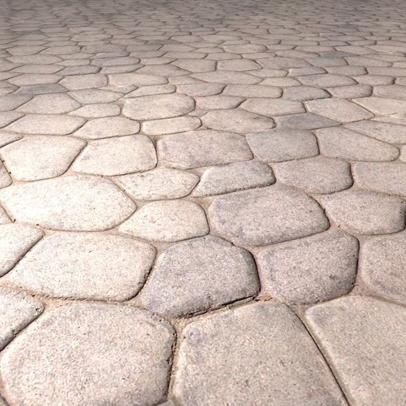 . Smooth Stone Floor Seamless Texture