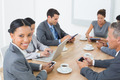 Business people in meeting with new technologies at the office - PhotoDune Item for Sale