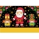 Santa Claus and Cute Girls - GraphicRiver Item for Sale