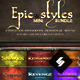 Epic Styles Mini Bundle - GraphicRiver Item for Sale