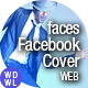 Faces // Facebook Cover - Be a Brand - GraphicRiver Item for Sale