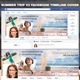 Summer Trip Facebook Cover - GraphicRiver Item for Sale
