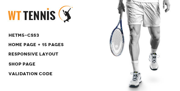 WT Tennis –  HTML Sports Template