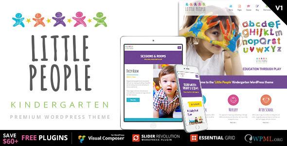 15+ Kindergarten and Elementary School WordPress Themes 2019 8