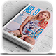 NO.9 Magazine Template - GraphicRiver Item for Sale