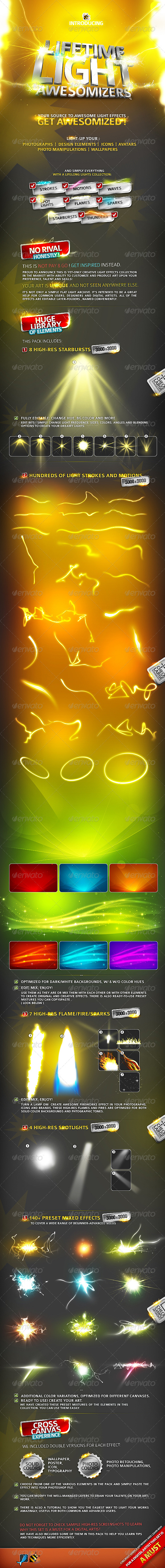 Lifetime Light ( Effects Collection ) - Decorative Graphics