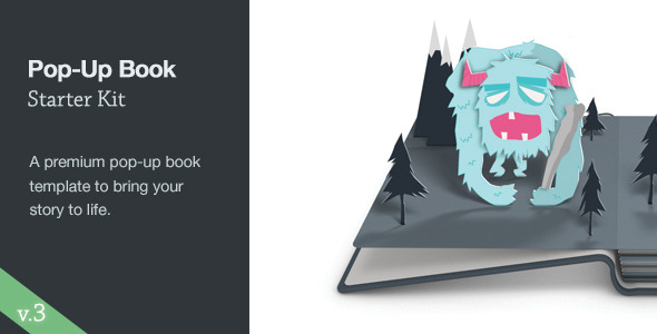 pop up book starter kit by thomaskovar videohive