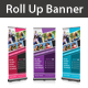Summer Camp Rollup Banner - GraphicRiver Item for Sale