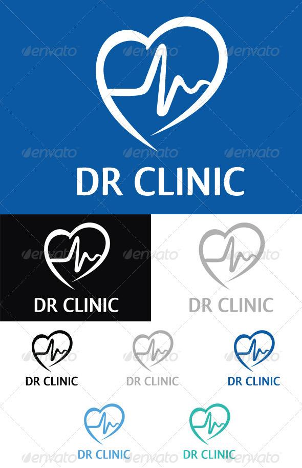Dr Clinic Logo Template - Symbols Logo Templates