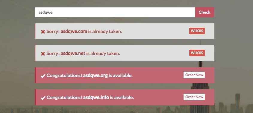 Optimized Domain Checker Code
