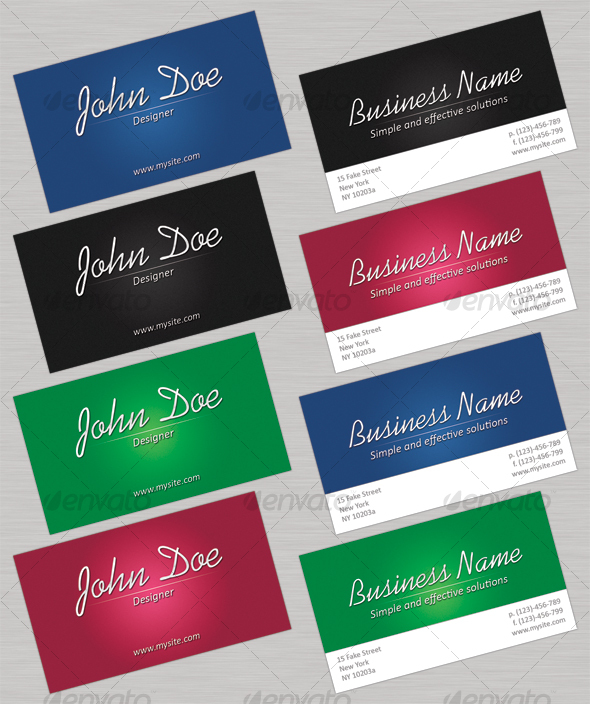 Effective Business Cards - Corporate Business Cards