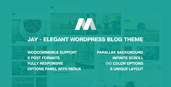 Jay – Elegant WordPress Blog Theme