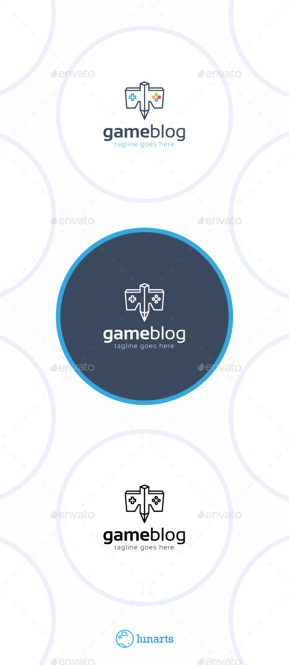 Game Blog Logo - Eagle