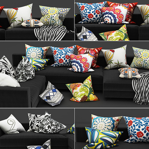 Pillows 33 - 3DOcean Item for Sale