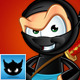 Sneaky Ninja Character - Set 1 - GraphicRiver Item for Sale