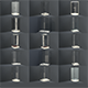 Bathroom shower corners,bath corners collection 1 - 3DOcean Item for Sale