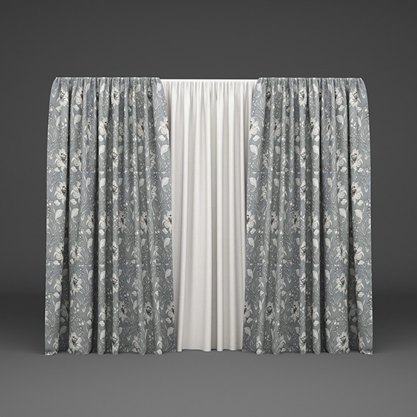 Curtain02 - 3DOcean Item for Sale
