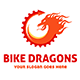 Bike Dragons Logo Template  - GraphicRiver Item for Sale