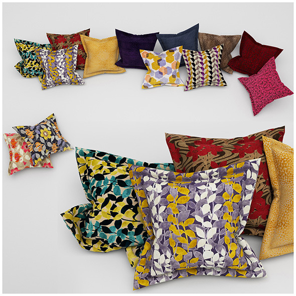 Pillows 37 - 3DOcean Item for Sale
