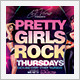 Pretty Girls Rock Party - GraphicRiver Item for Sale