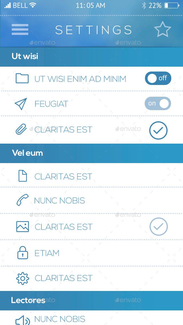 Zeus iOS Phone / Mobile App Bootstrap by templatesbravo | GraphicRiver